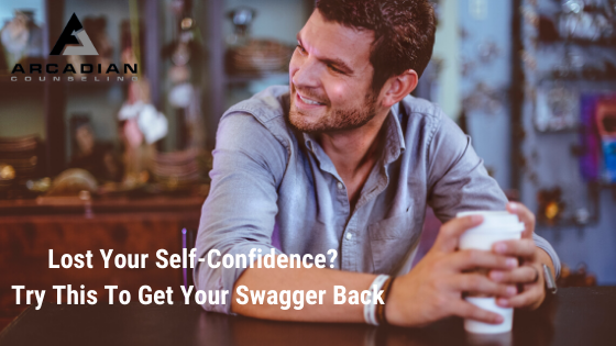 Lost Your Confidence? Try This To Get Your Swagger Back