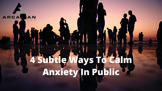 4 Subtle Ways To Calm Anxiety In Public