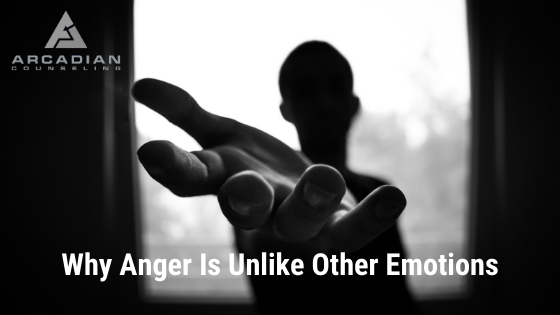 Why Anger Is Unlike Other Emotions
