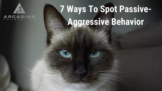 7 ways To Spot Passive-Aggressive Behavior